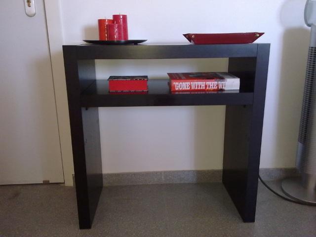 Ikea hack la estanter a expedit de ngela convertida en - Consolas de ikea ...