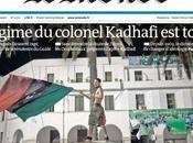 ¿Quién para derrumbado régimen libio Gadafi?
