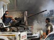 Potencias seguirán apoyando opositores armados libios