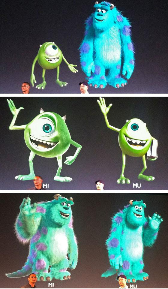 Primeras imágenes de Monsters Inc 2, Monsters University