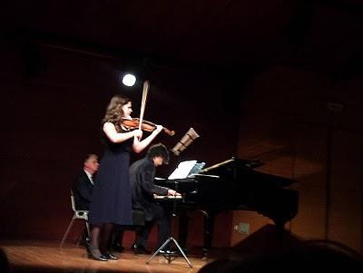 Jóvenes violinistas asturianos ¡todo un orgullo!