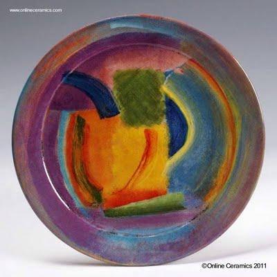 Platos de cer mica art stica decorativa paperblog - Platos ceramica colores ...