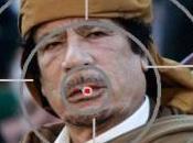 abre juego: Gadafi vivo preferentemente muerto…