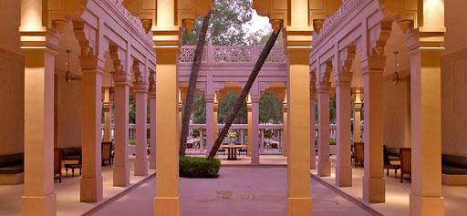 Amanbagh, resort de Amán en la India
