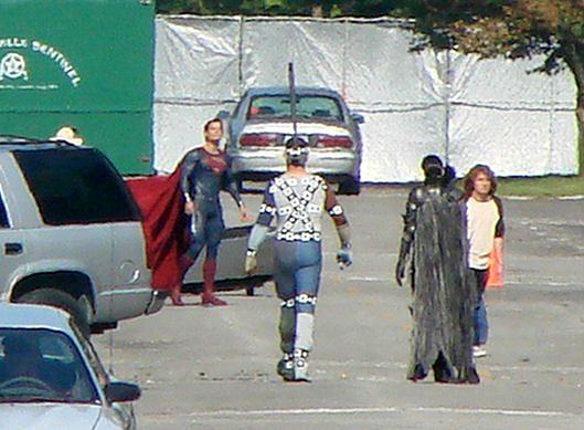 El nuevo traje de Superman