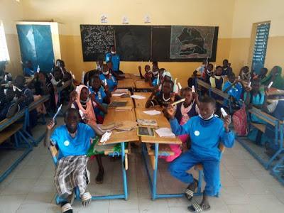 Vivir un sueño en el colegio de Louly en Senegal