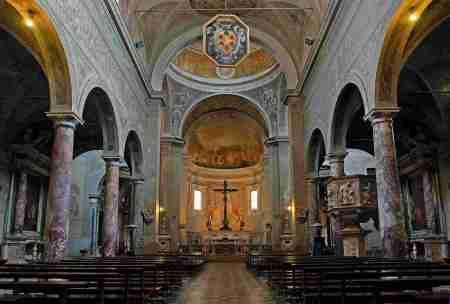 El púlpito matemático de Pietrasanta