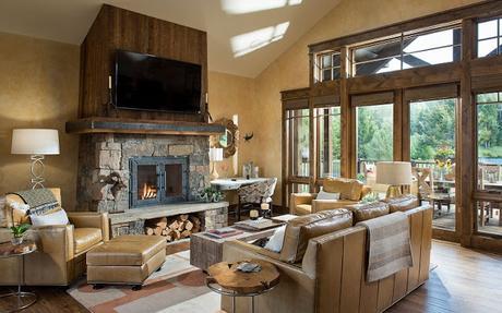 Cabana Rustica y Moderna