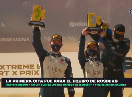 Extreme E, la innovadora serie de carreras de coches eléctricos, ha revelado su trofeo diseñado por el uruguayo Mariano Piñeryrúa