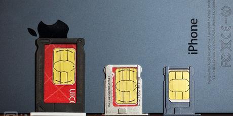 iPhone con nano, micro o sim normal