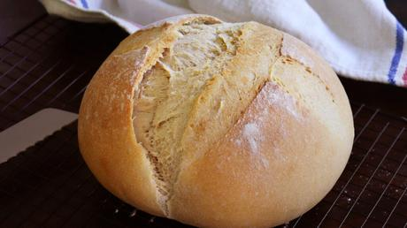 pan de campo pan casero con grasa