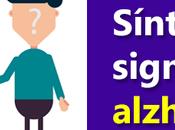 Síntomas signos enfermedad Alzheimer