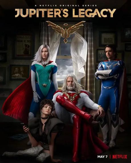 Tráiler y póster de 'Jupiter's Legacy', la nueva serie de ciencia ficción de Netflix.