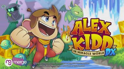 alex kidd miracle world dx