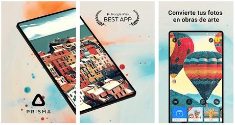App Prisma, Retratos como Picasso y Munch de tus Fotos