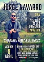 Concierto de Jorge Navarro en Fotomatón Bar