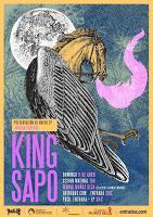 Concierto de King Sapo en el Teatro Muñoz Seca