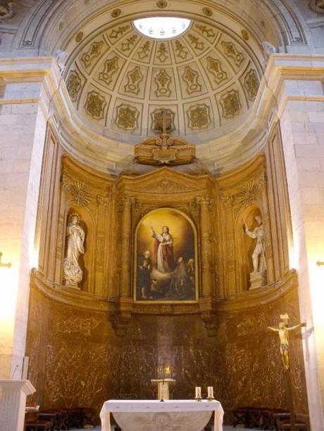 La pintura del pintor francés Paul Ratier en la Iglesia de Santa Lucía
