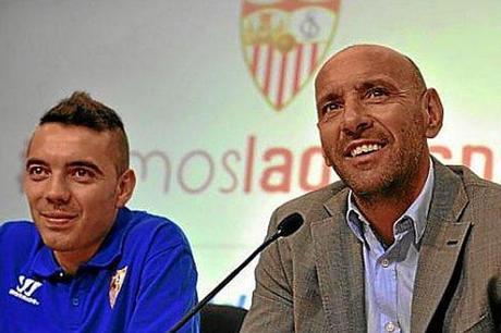 Iago Aspas: 'Soy fan de Monchi'