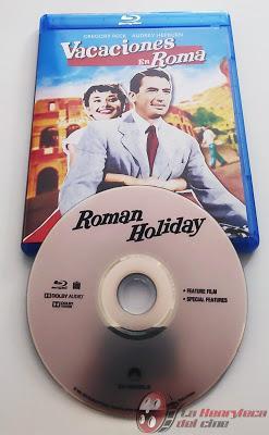 Vacaciones en Roma, Galería fotografica y detalle de la edición Bluray
