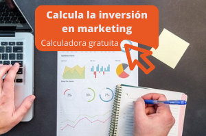 calculadora presupuesto marketing