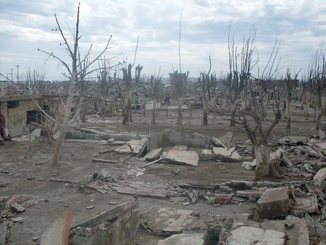 Villa Epecuén, pueblo sumergido, el después de su inundación