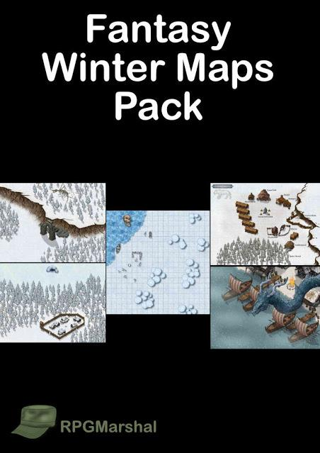 Fantasy Winter Maps Pack, de RPG Marshal