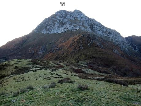 Priesca-Pierzu-La Cruz de Valdoré-La Güérfana