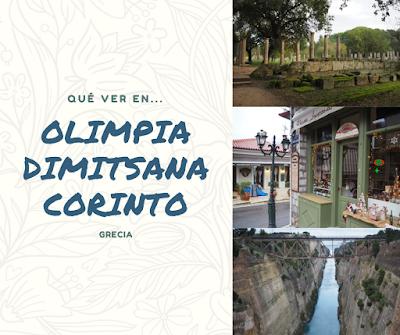 Que ver en Olimpia, Dimitsana y Corinto