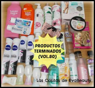 Productos terminados #terminados #empties #beauty #belleza #lowcost #reseña #opinion #review #productosterminados