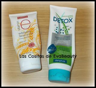 Exfoliante facial de Beauty Formulas y Exfoliante capilar detox de Deliplús terminados #productosterminados #terminados #empties