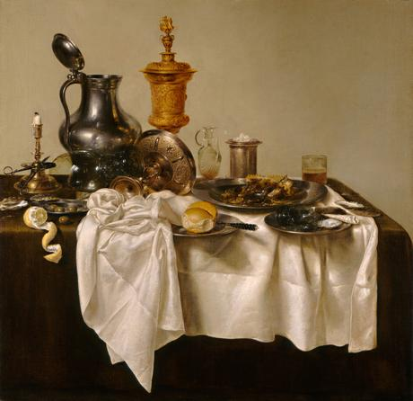 Willem Claesz Heda, Piece salones con Mince Pie, 1635