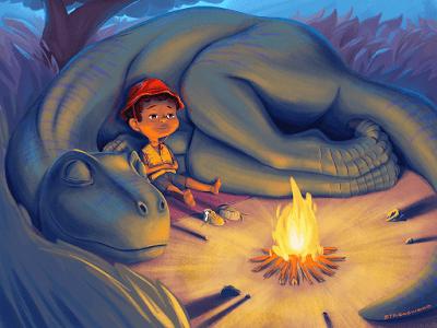 Unas cuantas ilustraciones dinosaurianas... (LIV)