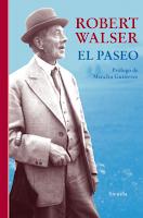 El paseo. Robert Walser
