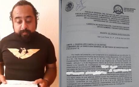 Periodista denuncia acoso de candidato de Movimiento Ciudadano