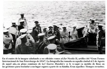 Lasker, Capablanca y Alekhine o ganar en tiempos revueltos (8)