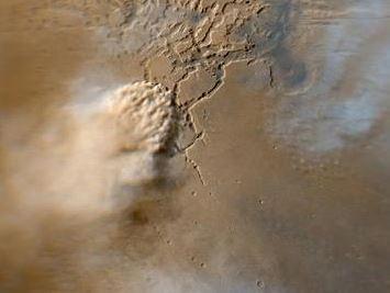 Consulta el Informe meteorológico de Marte