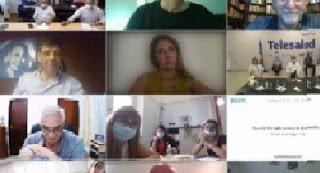 AUTORIDADES, DIRECTIVOS DE HOSPITALES Y DESCENTRALIZADOS ANALIZARON ESTRATEGIAS ANTE LA SEGUNDA OLA