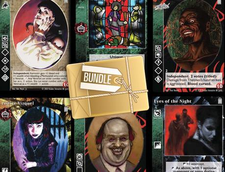 Legacy Vol 1, pack en oferta de cartas de Vampire The Eternal Struggle