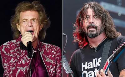 Mick Jagger & Dave Grohl - Eazy sleazy (2021)