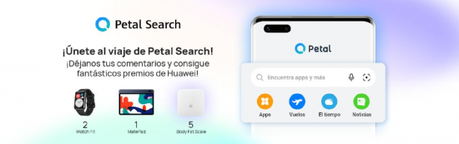 Petal Search de Huawei crece gracias a ti… ¡y te premia!