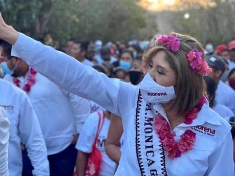 Mónica Rangel primer candidata que contactará a los potosinos radicados en EUA: Vianey