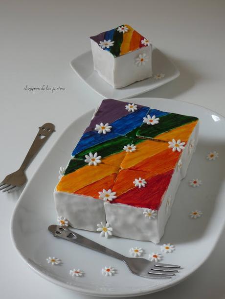 Funfetti Rainbow Cake