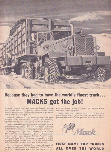 Mack, la marca de camiones para caminos extremos
