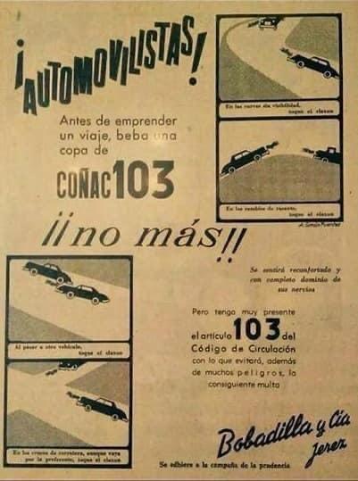 Publicidad de otra época