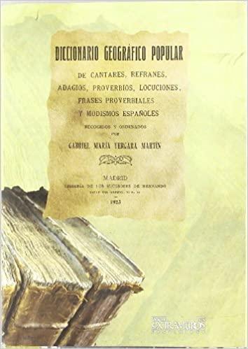 Diccionario Geográfico Popular II