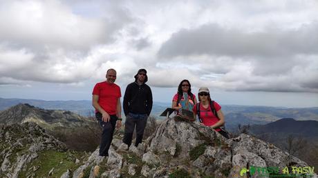Cima del Pico Texu