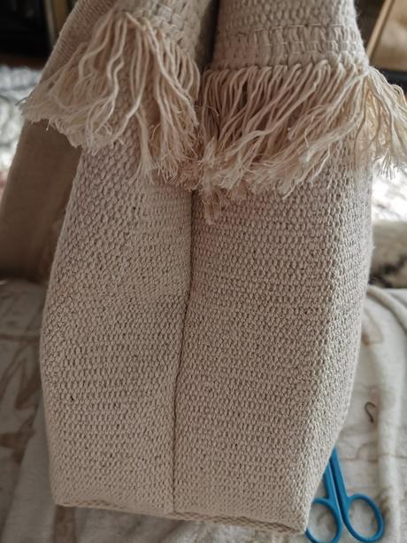 Tutorial bolso con  alfombra IKEA