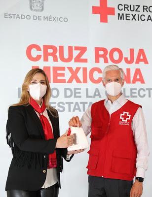 INICIAN LA COLECTA 2021 DE LA CRUZ ROJA EN EL EDOMÉX