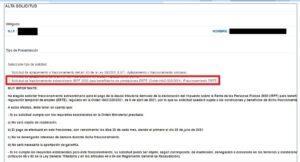 Fraccionamiento en seis meses del pago del IRPF para afectados por ERTE, ¿cómo lo solicito?